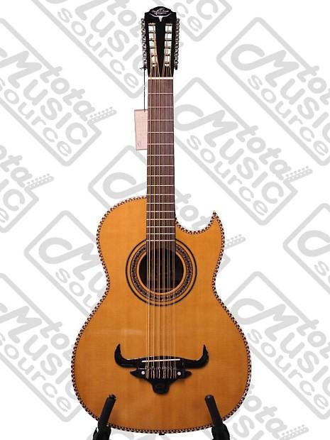 oscar schmidt 12 string bajo sexto acoustic guitar w gig reverb. Black Bedroom Furniture Sets. Home Design Ideas
