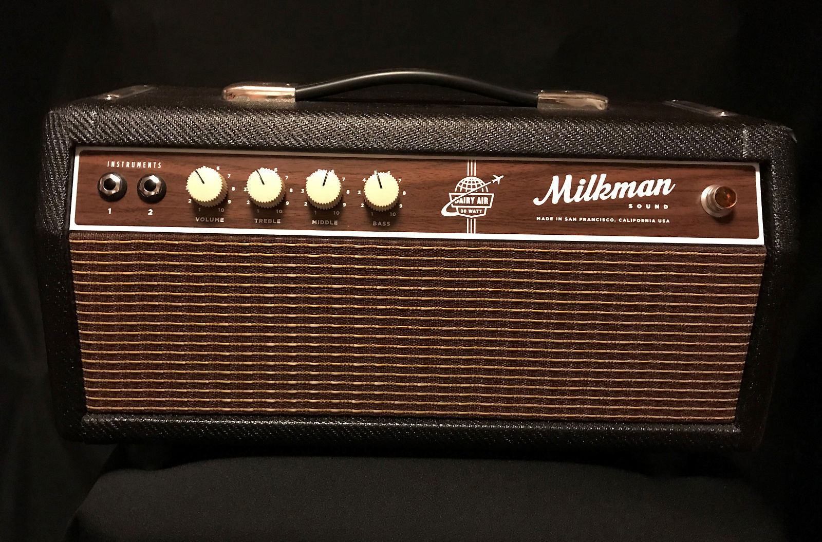 milkman dairy air 30 watt guitar amp head with 6l6 tubes reverb. Black Bedroom Furniture Sets. Home Design Ideas