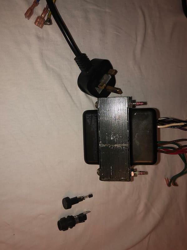 230V 50Hz Fender Hot Rod Deluxe Power Transformer 047395 and Power Cord and  Fuse Holder