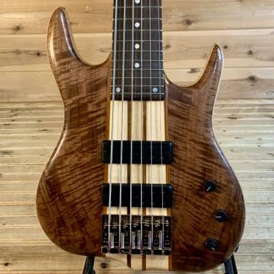 Ken Smith Black Tiger Elite Vintage 6-String Bass - Crotch Walnut/Tiger Maple for sale