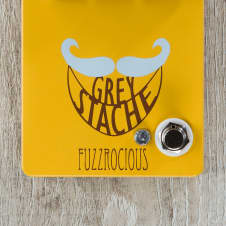 Fuzzrocious Pedals Grey Stache Fuzz Guitar Effects Pedal - Honey