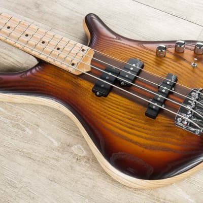 Mayones Patriot PJ 4 Bass, Dirty Sunburst, Maple Fretboard, Aguilar for sale