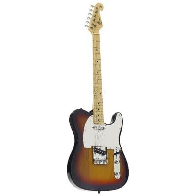 SX electric guitar TC style, sunburst alder for sale