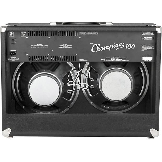 fender champion 100 2x12 100 watt guitar amplifier combo reverb. Black Bedroom Furniture Sets. Home Design Ideas