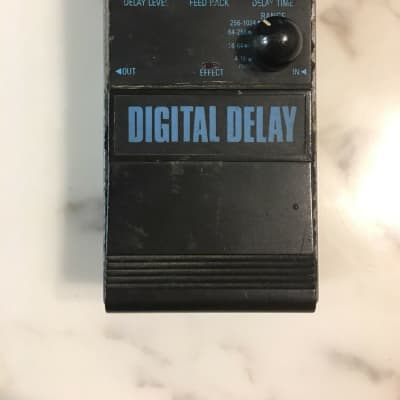 Aria DD-X5 Digital Delay 4-Modes Rare Vintage Guitar Effect Pedal MIJ Japan