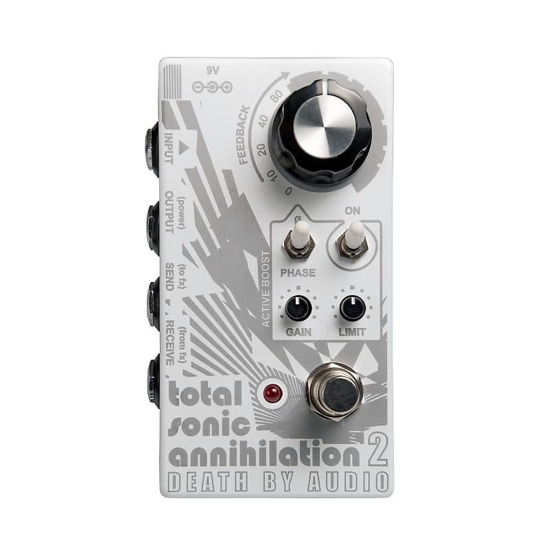 Death By Audio DBA Total Sonic Annihilation 2 Feedback Looper Effects Pedal