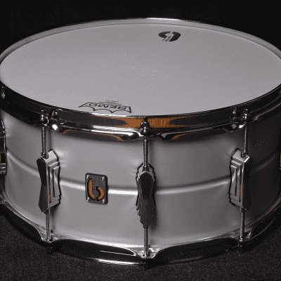 "British Drum Company Aviator 14x6.5"" 10-Lug Seamless Aluminum Snare Drum"