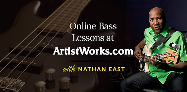ArtistWorks: Bass Lessons with Nathan East - 3 Months