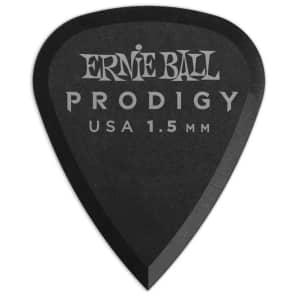 Ernie Ball P09199 1.5mm Black Standard Prodigy Picks 12-Pack