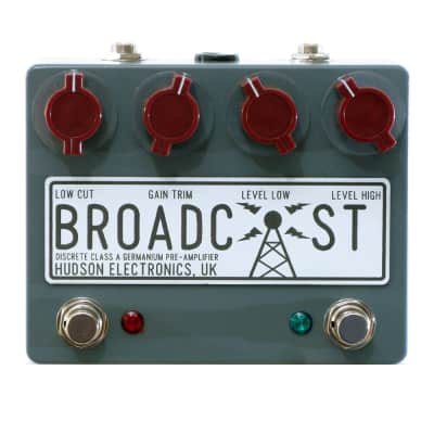 Hudson Broadcast Dual Switch Preamp Overdrive