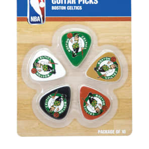 Woodrow Boston Celtics Guitar Picks (10)