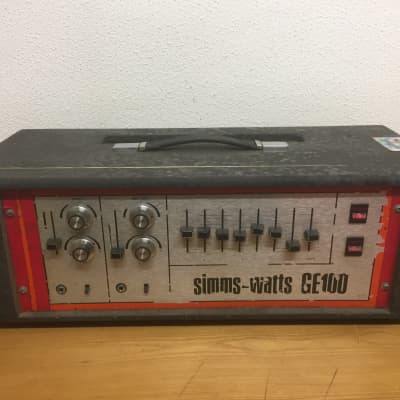 Simms-Watts GE 100 for sale