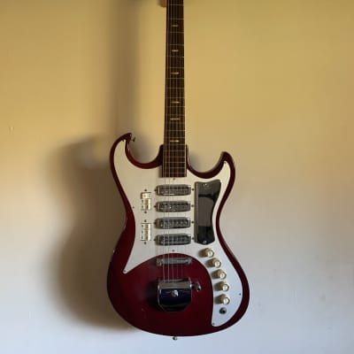 Kawai SD4W 1960's red for sale