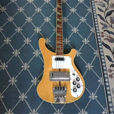 Rickenbacker 4001 Bass Guitar 1974 Mapleglo for sale