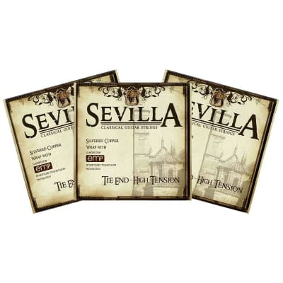 Buy 2 Get 1 FREE Cleartone Sevilla 8450 Classical Strings TIE End High Tension