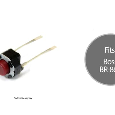 Boss Tact Switch Replacement Part for BR-864
