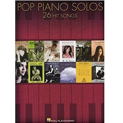 Pop Piano Solos: 26 Hit Songs Arranged for Piano Solo (Hal Leonard)