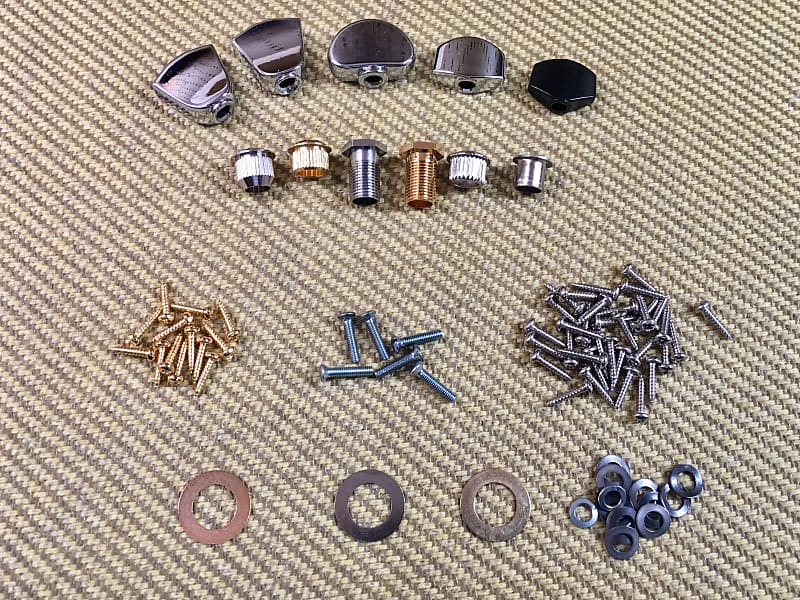 machinehead tuner key for guitar parts repair lot assorted reverb. Black Bedroom Furniture Sets. Home Design Ideas
