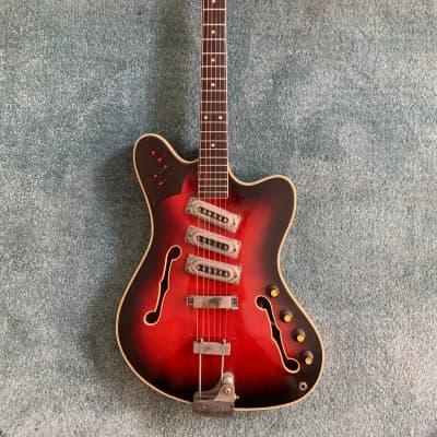 Framus Framus Television 5/118-52– 1964 German Vintage Thinline Semi hollow Atlantik TV Guitar / Git for sale