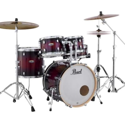 Pearl Decade Maple Drum 5-pc. Shell Pack GLOSS DEEP REDBURST DMP905P/C261