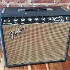 1967 Fender Princeton Reverb Guitar Amplifier for sale
