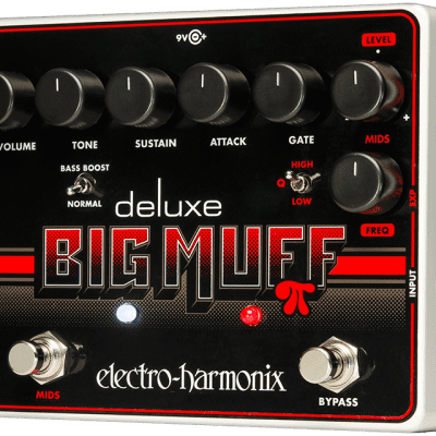 Electro-Harmonix Deluxe Big Muff Pi Fuzz Pedal with Mid-Shift Guitar Pedal
