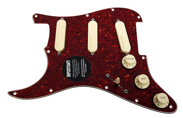fender stratocaster strat lace sensor gold loaded pickguard reverb. Black Bedroom Furniture Sets. Home Design Ideas