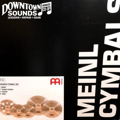 "Meinl HCSB14161820 HCS Box Set 14/16/18/20"" Cymbal Pack"