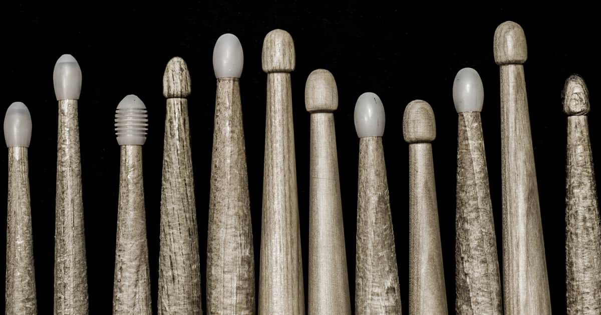 where did drumstick sizes come from reverb news. Black Bedroom Furniture Sets. Home Design Ideas