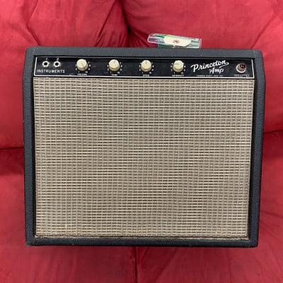 Fender Princeton Amp 6G2 Tuxedo Model 1964 Blackface for sale