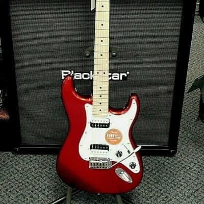 Fender Squier Contemporary Stratocaster HH! Dark Red Metallic!