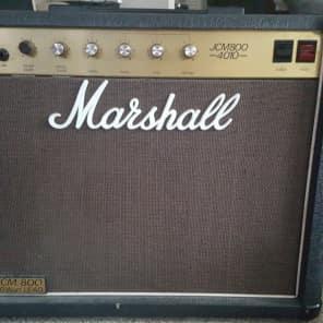 Marshall JCM 800 Lead Series Model 4010 50-Watt Master Volume 1x12 Combo