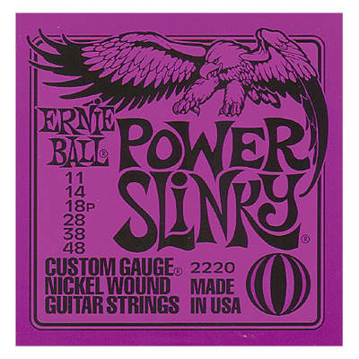 Ernie Ball Power Slinky Guitar Strings - 11's
