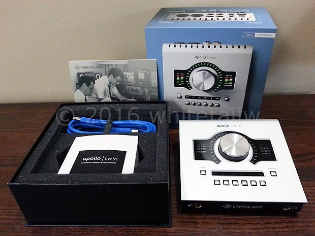 UA Apollo Twin Duo USB Audio Interface 24-bit 192-kHz 3 Windows Universal  Audio UAD 2 Free Shipping