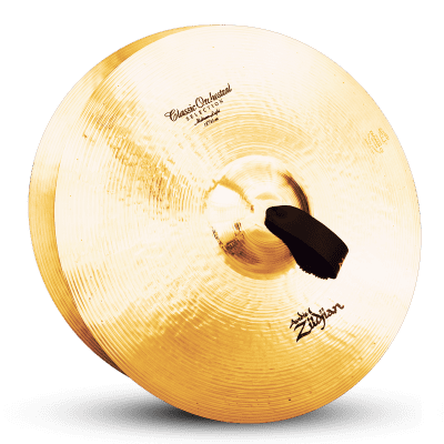 "Zildjian 18"" A Series Classic Orchestral Selection Medium Light Cymbals (Pair)"