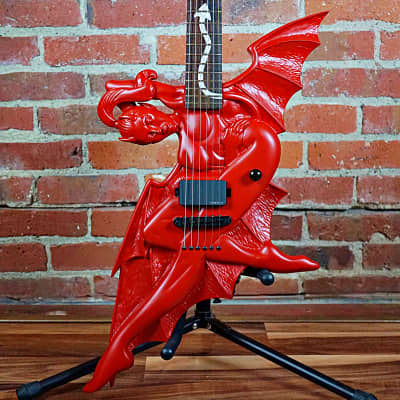 ESP LTD Devil Girl Red Fire Satin 2003 for sale