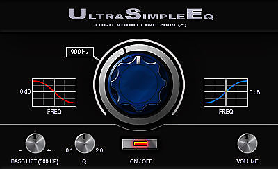 TAL-USE (Ultra Simple EQ)
