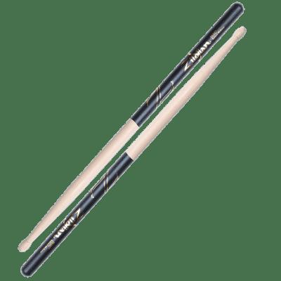 Zildjian Z5BD 5B Wood Tip Black DIP (Pair) Drum Sticks