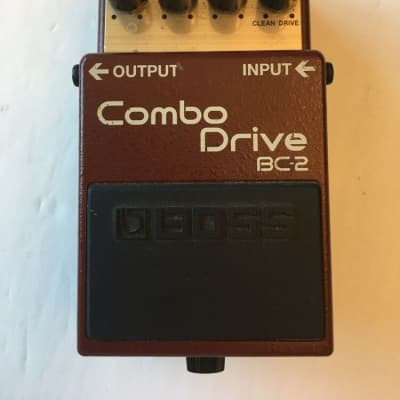 Boss Roland BC-2 Combo Drive Overdrive Distortion Guitar Effect Pedal
