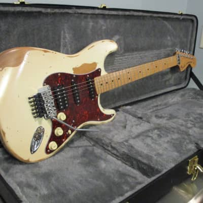 Palermo PG4 Mars Stratocaster Fender Conversion 2020 Aged White for sale