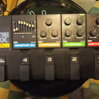 Korg PME Effectboard Dist,Flanger,Comp,Eq for sale