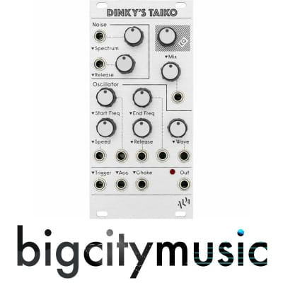 ALM Busy Circuits Dinky's Taiko - Voltage Controlled Drum Voice - Eurorack Module