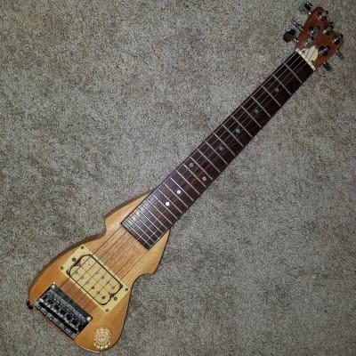 Travel Mini Guitar Hondo Chiquita Back To The Future for sale