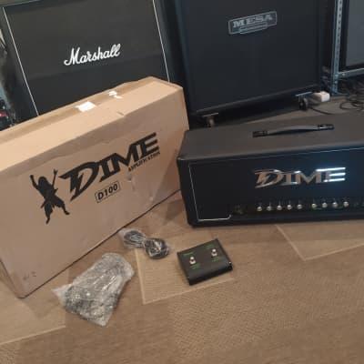 DIME D100 Head  - NEW OLD STOCK -  Dimebag Darrell Signature Guitar Amp Pantera for sale