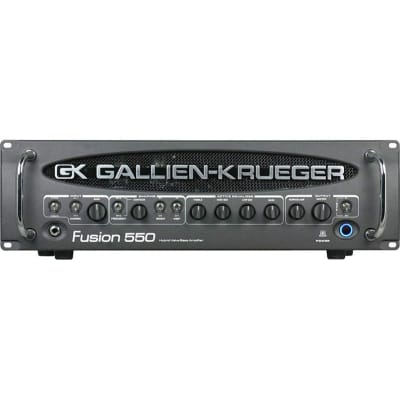Gallien-Krueger Fusion 550 Bi-Amped Bass Head for sale
