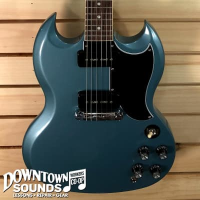 Gibson SG Special - Faded Pelham Blue - with Hardshell Case for sale