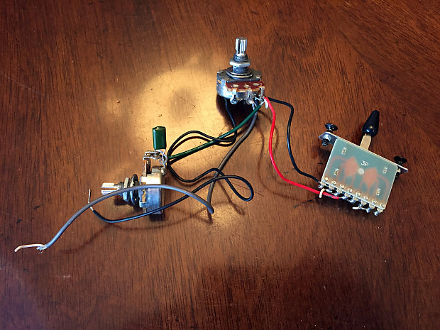Ibanez wiring harness pots way switch tone cap