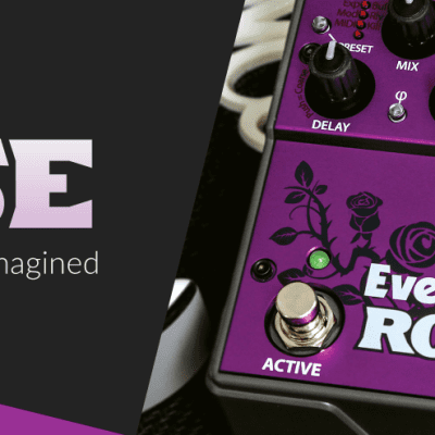 NEW $299 Eventide Rose Analogue Delay BBD Echo Chorus Mod Factory