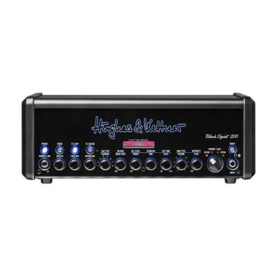 Hughes & Kettner Black Spirit 200 4-Channel 200-Watt Solid State Guitar Amp Head