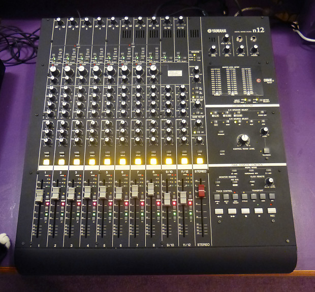 yamaha n12 professional digital audio recorder mixer like reverb. Black Bedroom Furniture Sets. Home Design Ideas